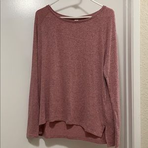 Old Navy luxe tee size M